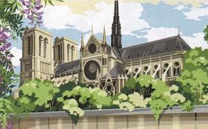 Notre-Dame Needlepoint kits